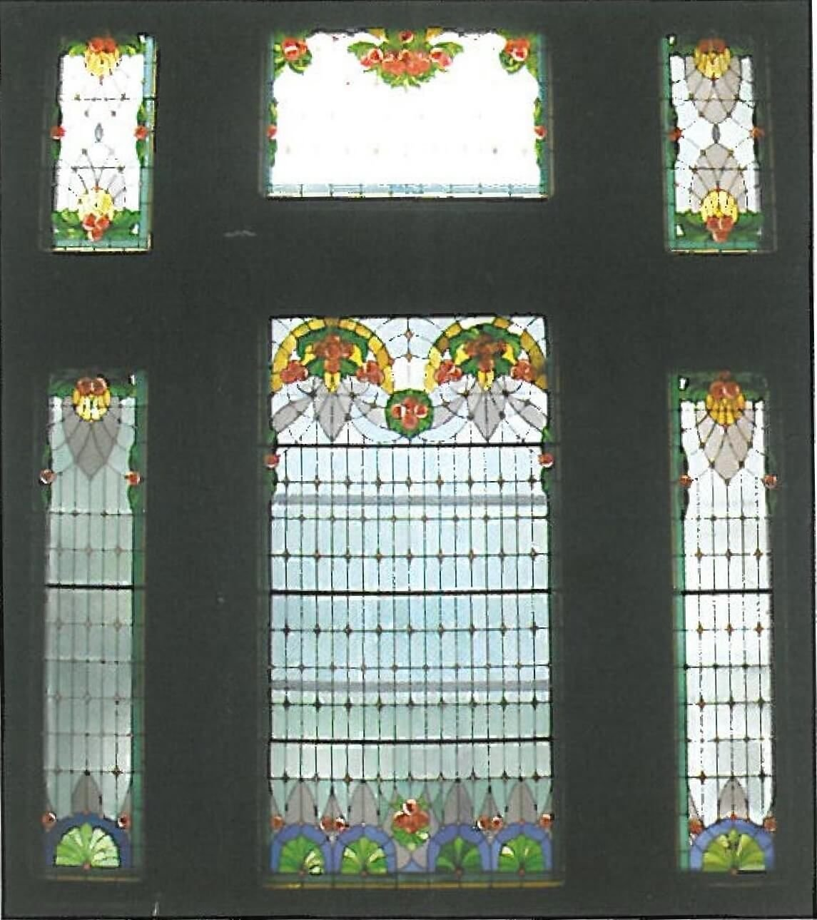 aradi kulturpalota ablakai