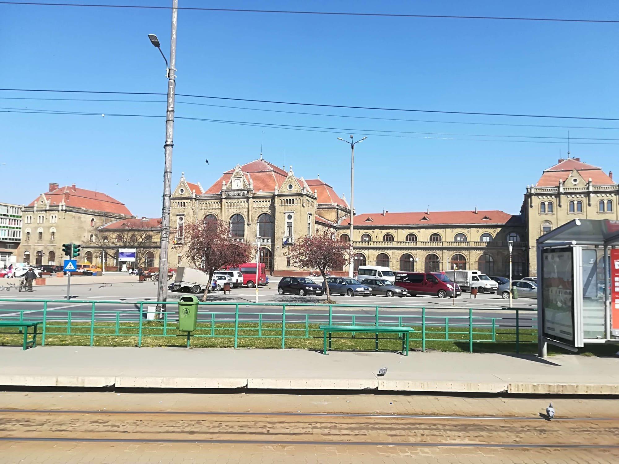 Gara centrală din Arad
