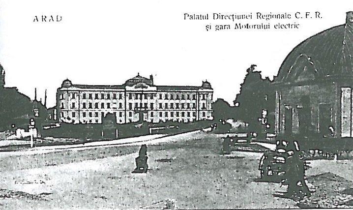 Palatul CFR Arad