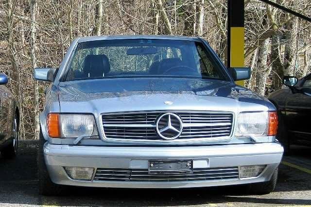 Mercedes-Benz 560 SEC AMG - 1986
