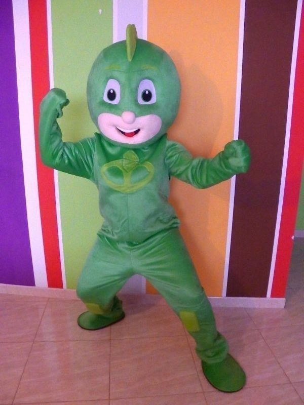 Mascotte Super Pigiamini Geko