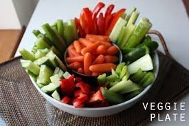 Fresh veggies/dip