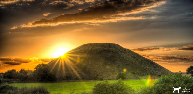 Silbury Hill - Sunset