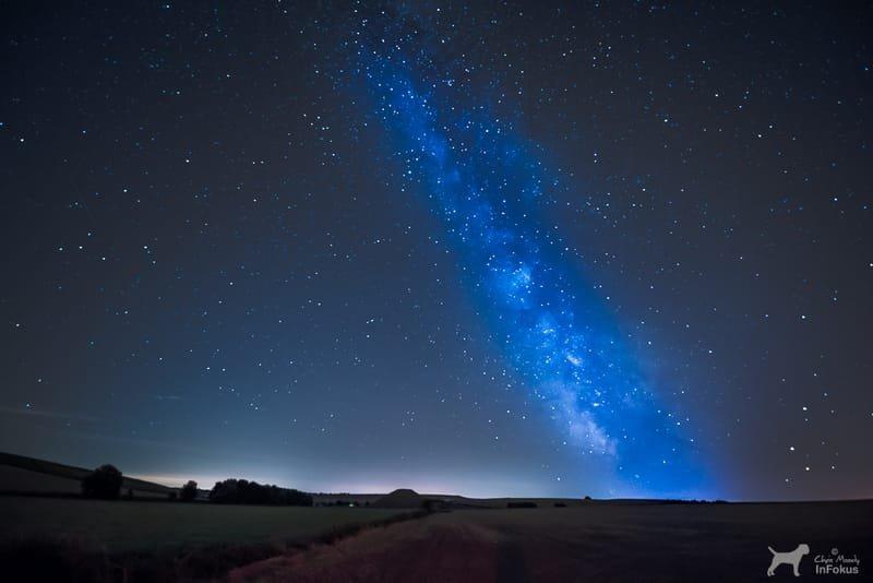 Milkyway over Silbury Hill