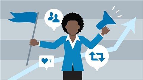 ادارة مواقع التواصل الاجتماعية