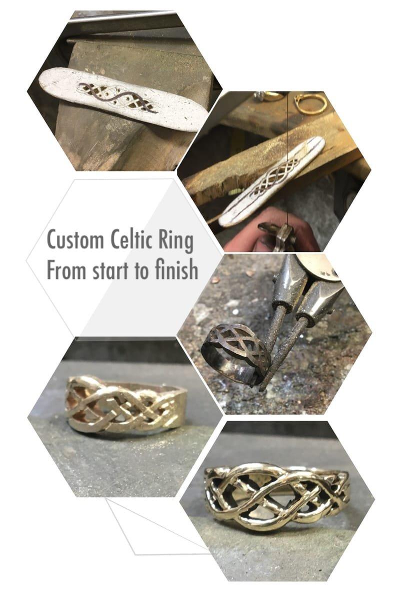 Custom Celtic Ring