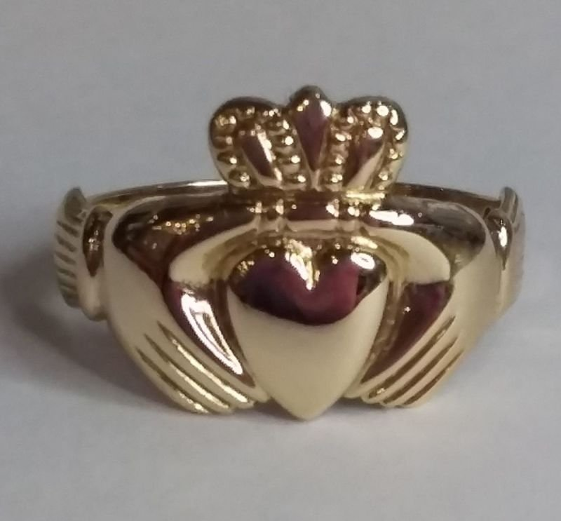 Irish Claddah Ring