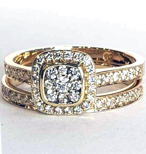 2 Set Diamond Ring