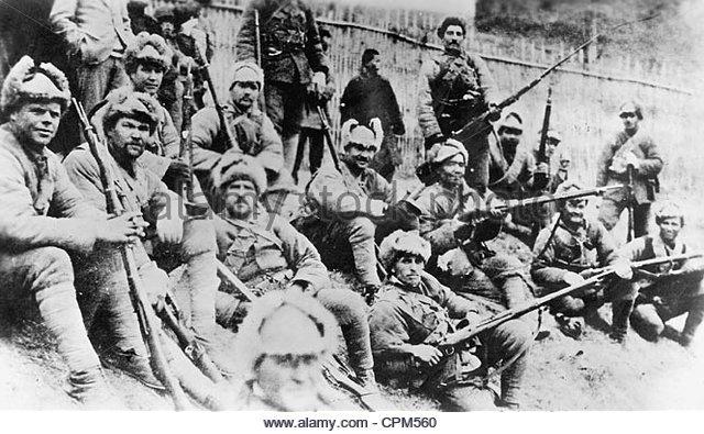The Russian Civil War That