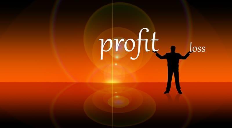 calculating profit and loss
