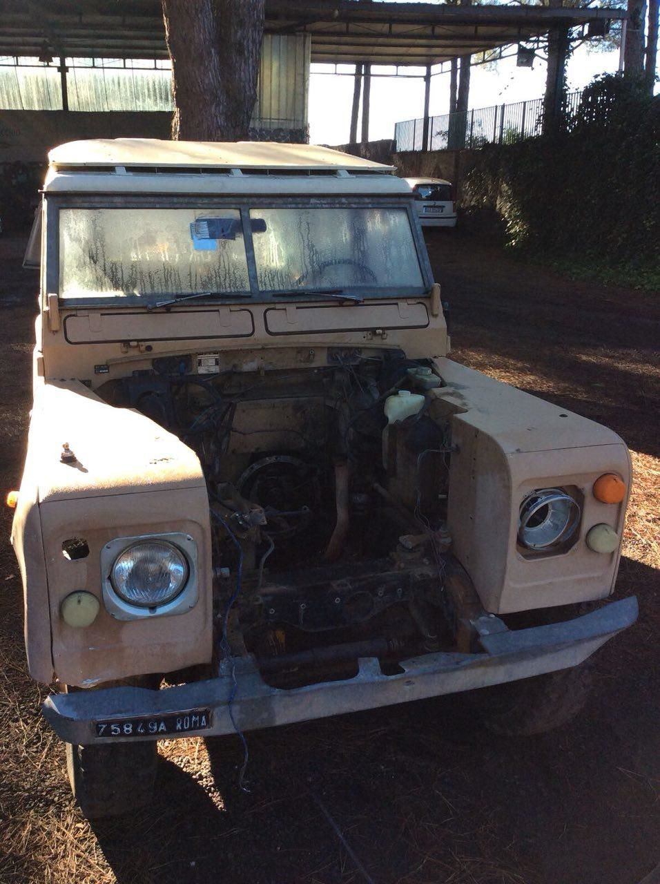Defender Land Rover Series 109 Engine Displacement 2286 Diesel 44 Clutch Straps Water Pump Radiator Air Conditioning Fuel Gaskets O Ring Distribution Leaf Springs Shock Absorbers Break System