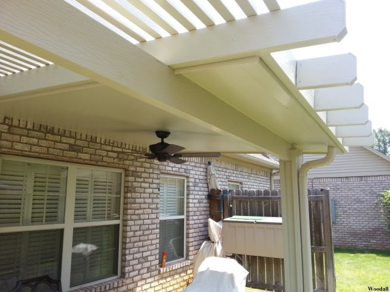 patio cover-Pergola Combination