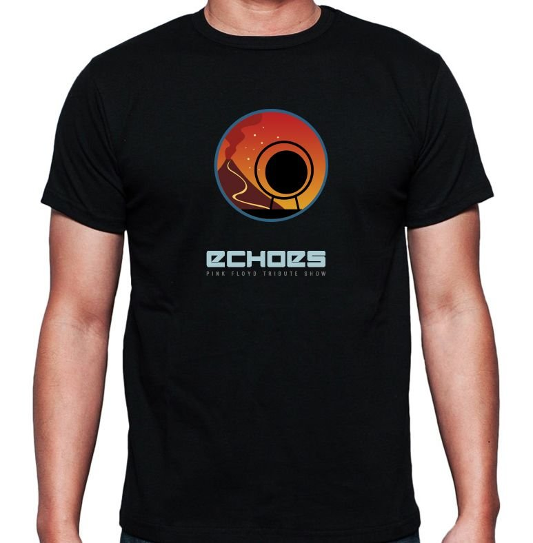 Pompeii Shirt - Echoes - Pink Floyd Tribute Show