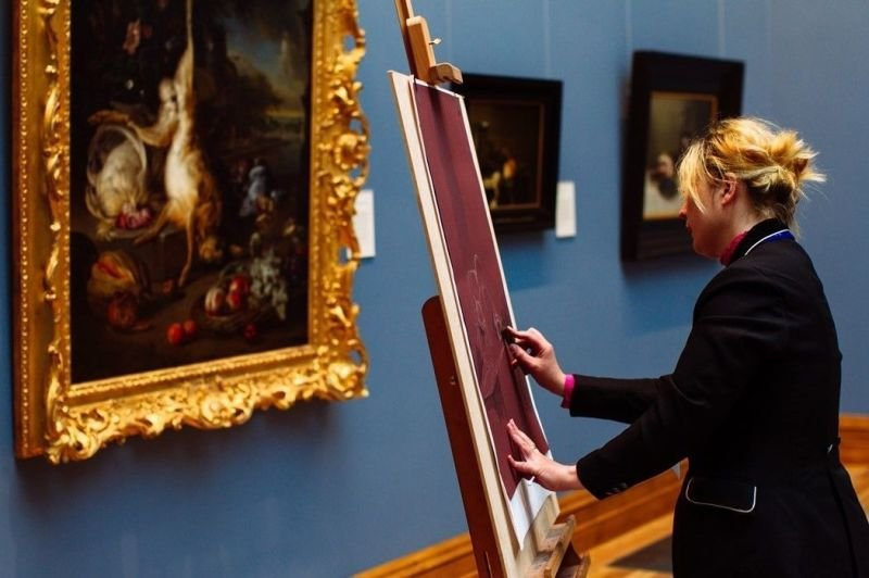 Invited to Drawing Day in the National Gallery of Ireland