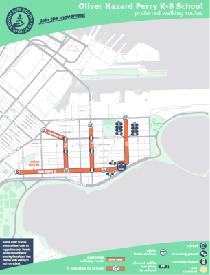 Safe Walking Route