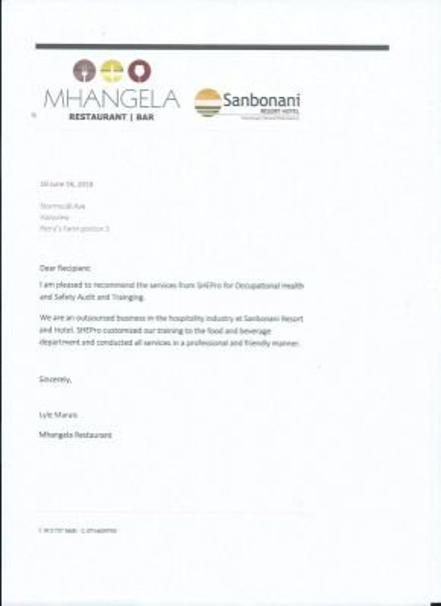 Lyle Marais - Mhangela Restaurant