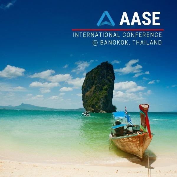 AASE conference @Bangkok, Thailand