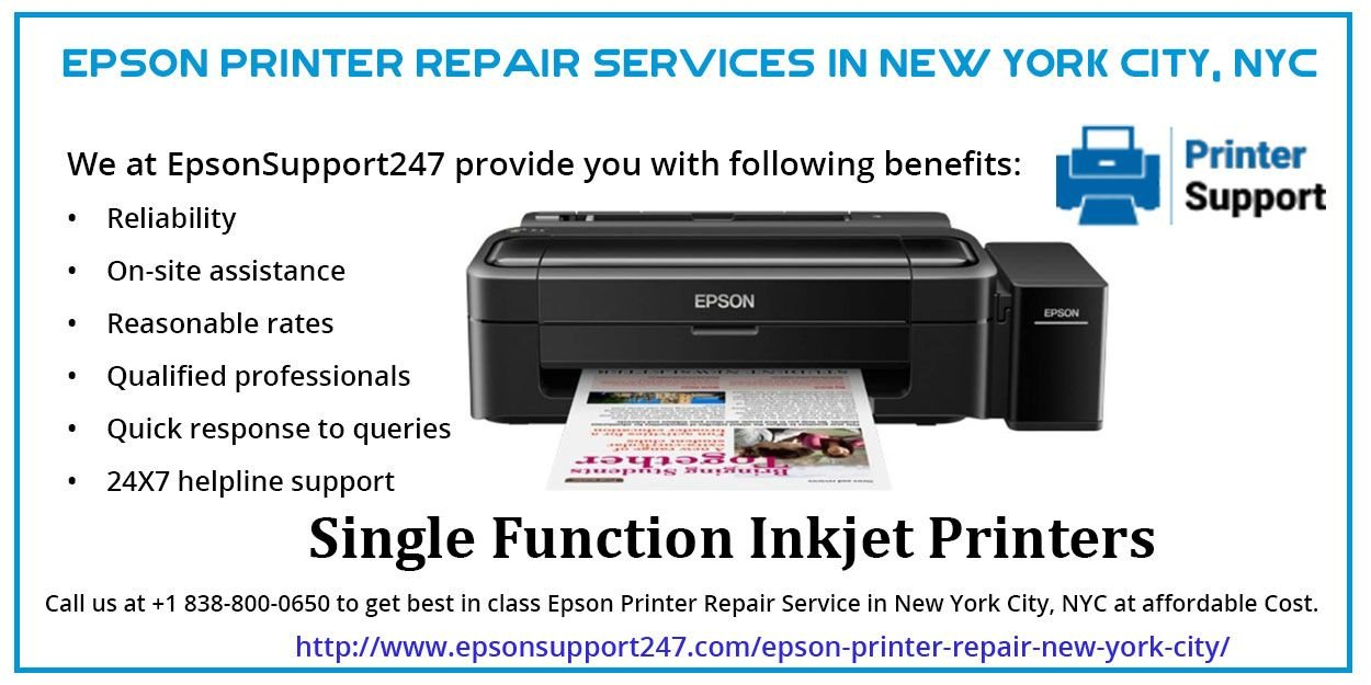 Best Epson Repair Services in New York City at Economical Prices