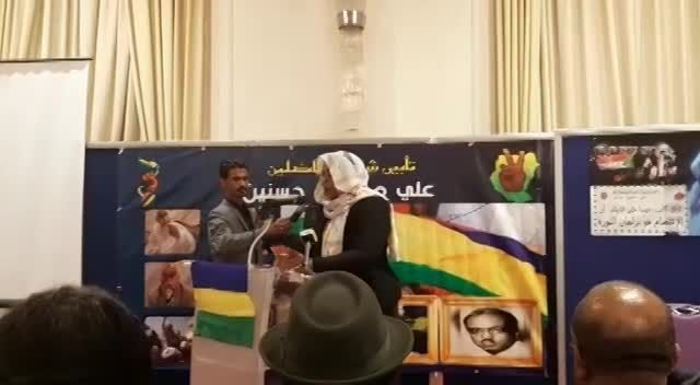 Dr Sara Abdelgalil speesh at Ustaz Ali Mahmoud Hassanein memorial day