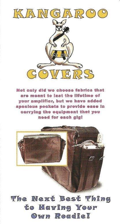 Kangaroo Amp Covers Brochure / Picks