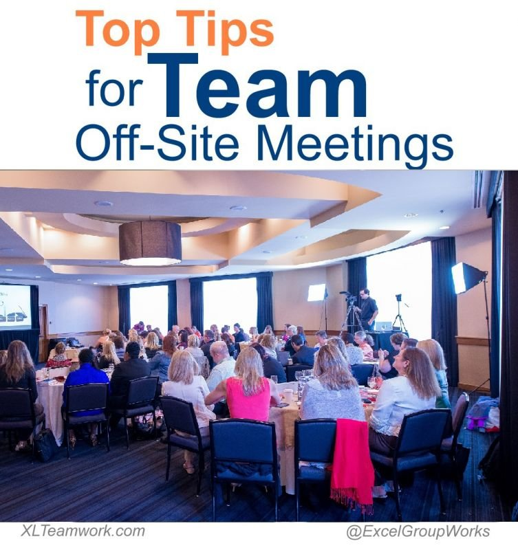 Top Tips for Team Off-Site Meetings