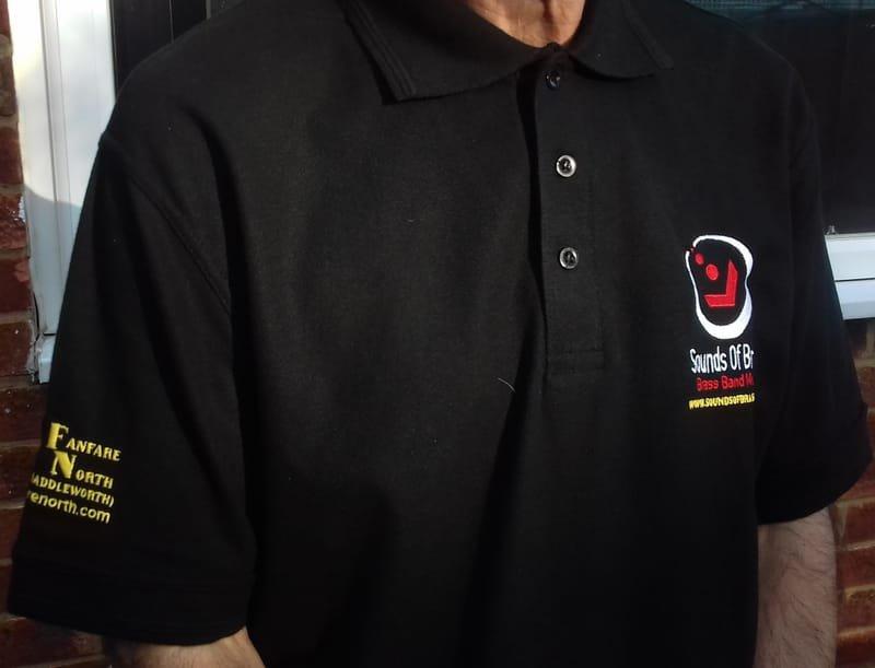 Polo shirt £20