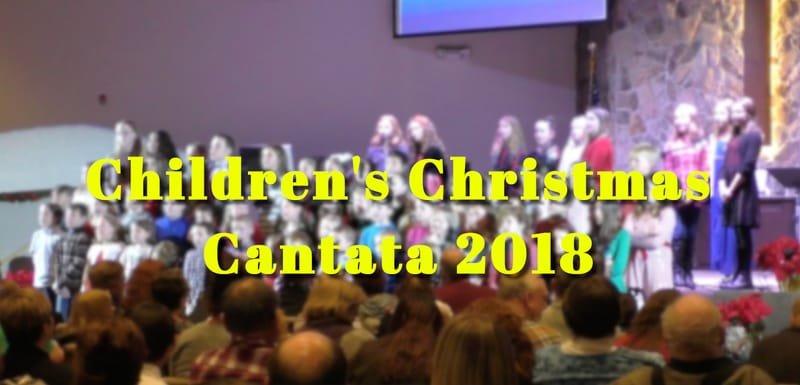 Children's Christmas Cantata 2018