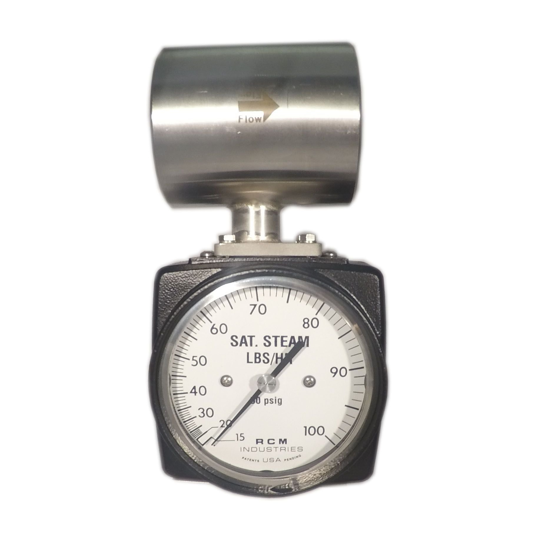 Saturated steam differential pressure flow meters