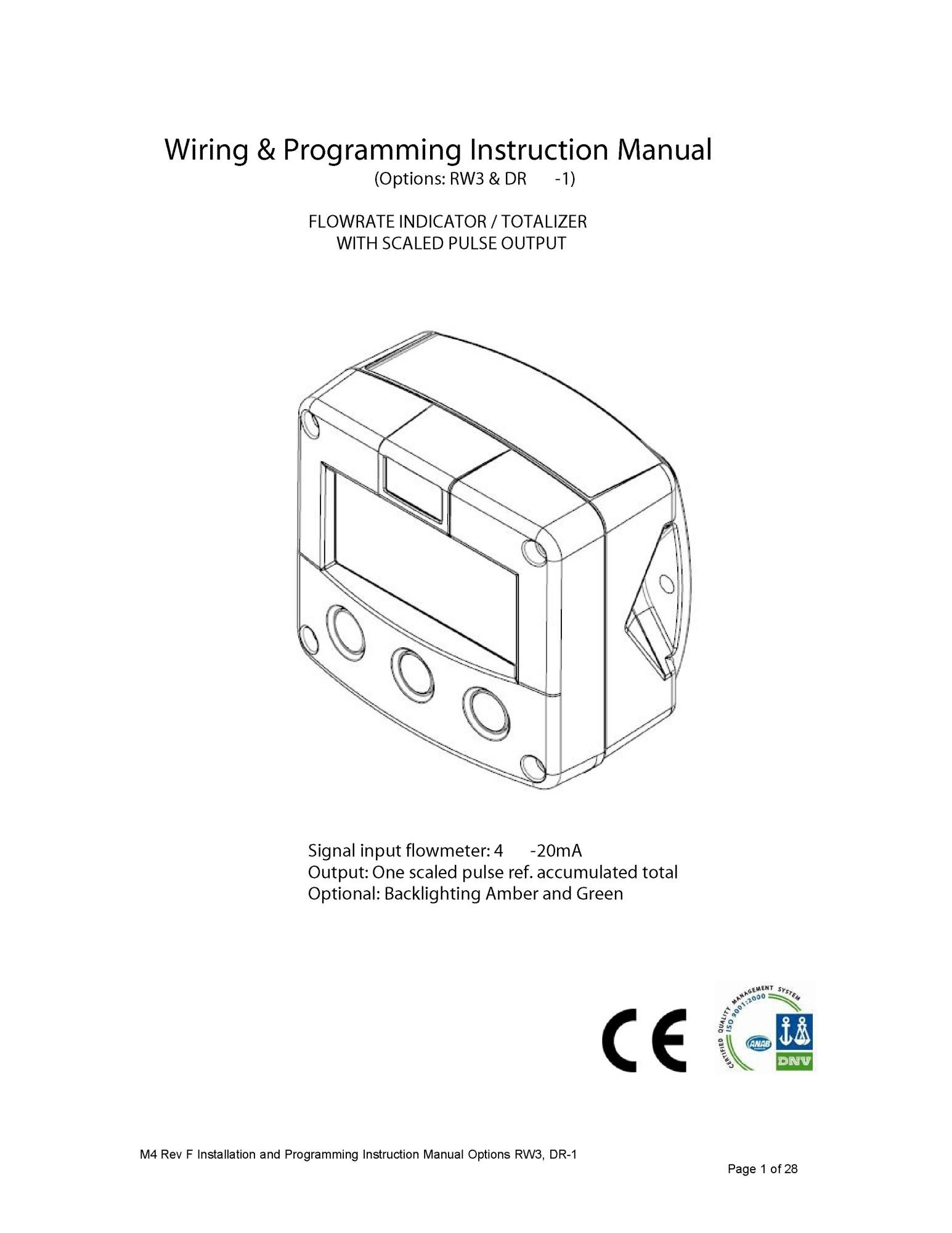 Digital Display Modbus Instruction Manual