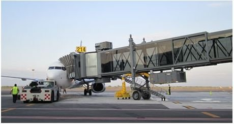 Airport Jetway Flow Meters
