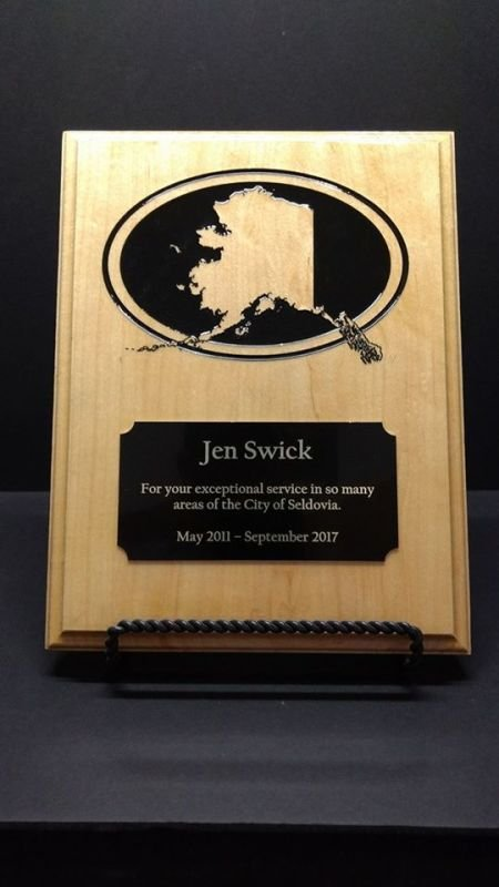 Custom Plaque