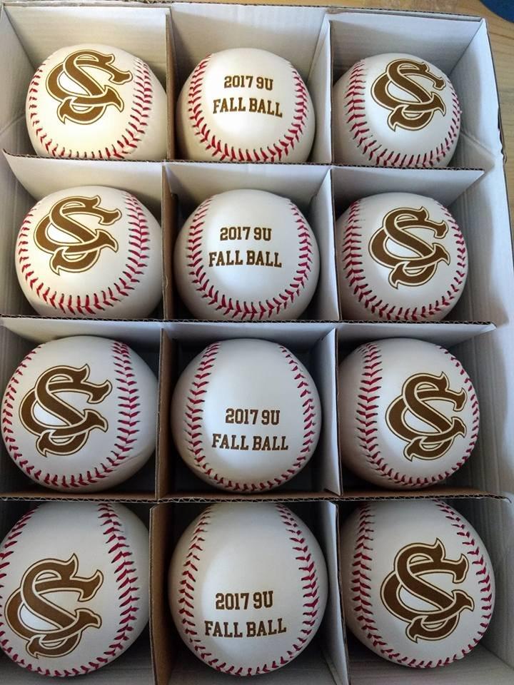 Egraved Baseballs