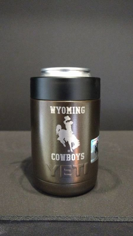 Wyoming Cowboys Yeti Colster