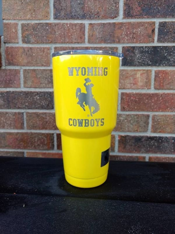 30oz Wyoming Cowboys Mug