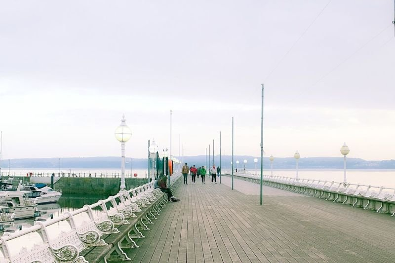 The pier at Torquay.