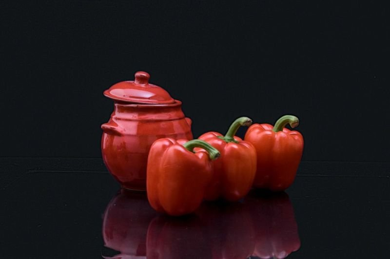 Colour 3: with peppers
