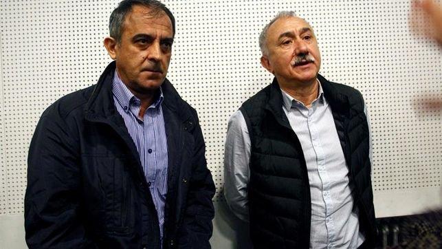 """Álvarez (UGT) cree """"viable"""" fijar las pensiones desde los 1.000 euros"""