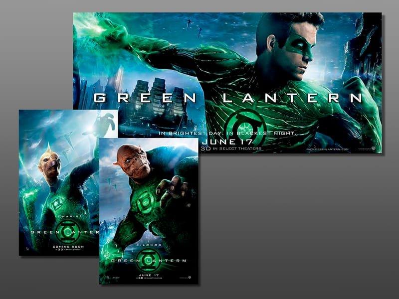 Green Lantern Materials