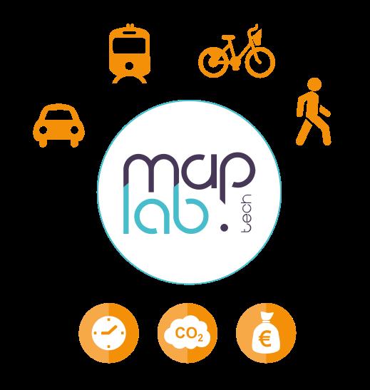 MapLab quantifie et analyse vos déplacements...