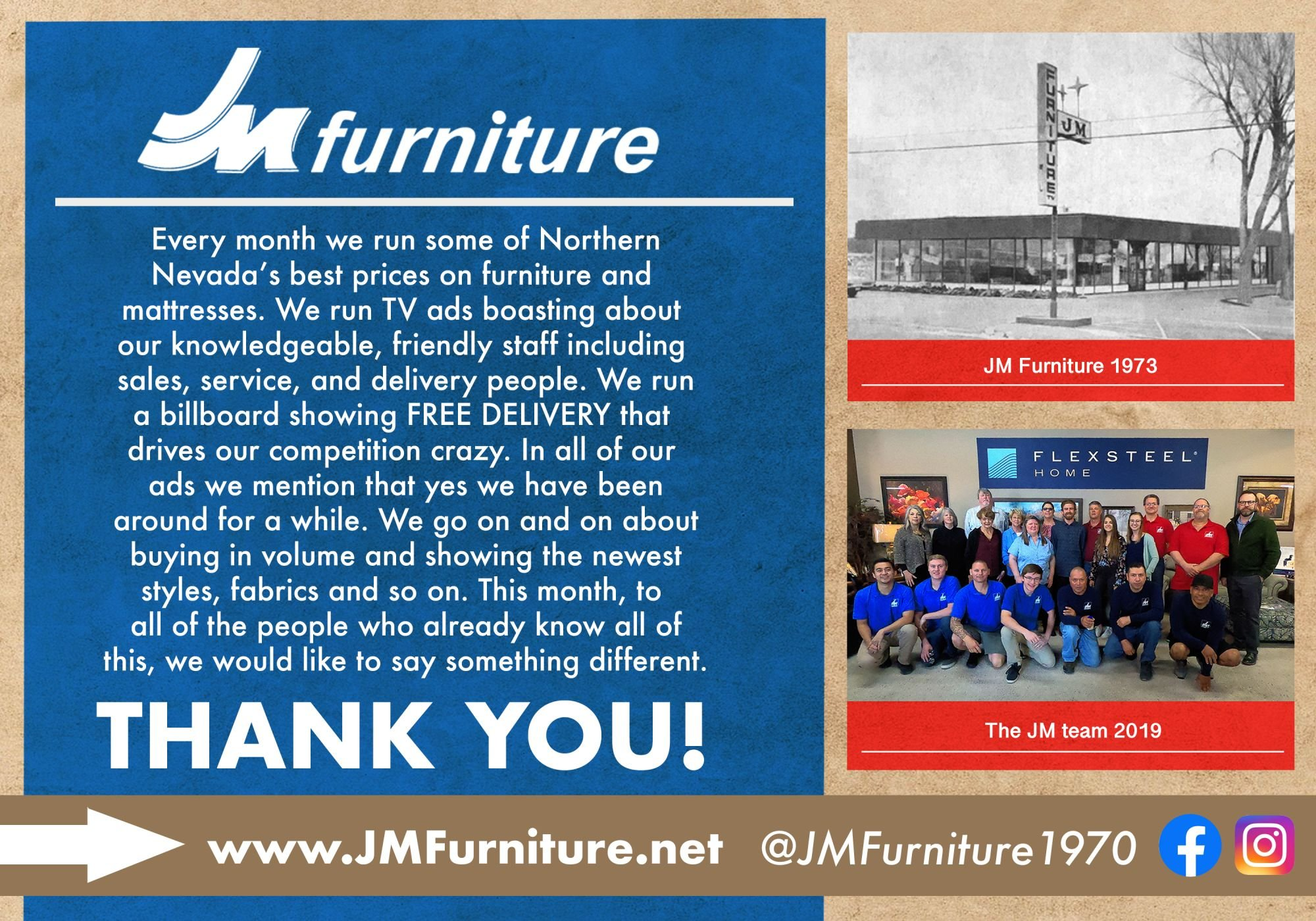 Thank You For Making Jm Furniture Carson City S 1 10 Years In A Row We Hope To Have Earned Your Vote Best Of 2019
