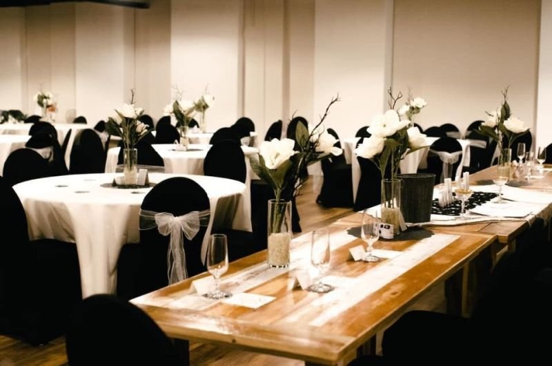 Wedding or Special Event Banquet Tables and Seating