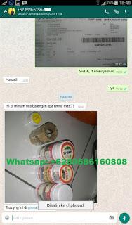 bukti barang sampai pengiriman obat sipilis