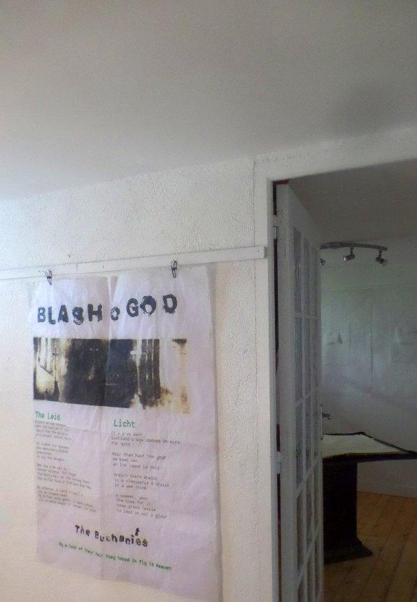 Blash o God A0 Panel - Illustrations : Robert Campbell Henderson/Poems : Hugh Mcmillan.